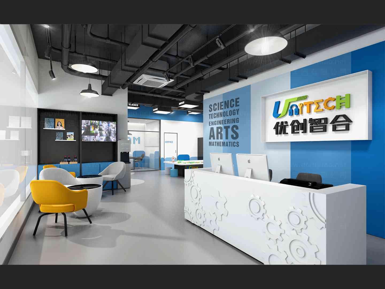 商业空间&导示虚拟店SI平面布局图设计优创智合商业空间&导示方案