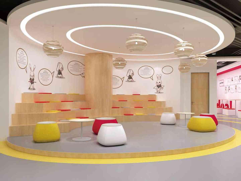 商业空间&导示教育终端SI设计华图商业空间&导示方案